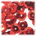スパンコール●ウォッシャブル●亀甲型●レッドメタリック P39●大ロット 〜4万1000枚