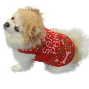 画像5: (dog1) 【大特価品 期間限定】ドッグウエア クリスマス  santa paws トップス 小型犬 犬服 お洋服 X'mas