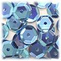 スパンコール●ウォッシャブル●亀甲型●ライトブルー メタリック P45●大ロット 〜4万1000枚