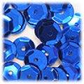 スパンコール●ウォッシャブル●亀甲型●ブルー メタリック P34●大ロット 〜4万1000枚