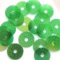 スパンコール●ウォッシャブル●平丸●グリーンIRIS P5●少量パック 〜760枚