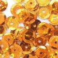 亀甲型ホログラムカラースパンコール  オレンジ