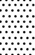 デコシートプロ ドット ブラック 9×14cm ホワイト地