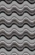 デコシートプロ ウェーブ ブラック 9×14cm 透明地