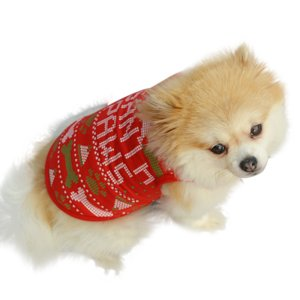 画像4: (dog1)  大特価品 期間限定 ドッグウエア クリスマス  santa paws トップス 小型犬 犬服 お洋服 X'mas