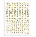 (PA404141) 転写シール アルファベット大文字 ゴールド 1枚 パジコ PADICO レジン 封入 転写棒付き