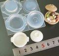 (S706)シリコンモールド キッチン雑貨 土鍋 調理器具 ナベ 3D 立体