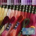 (dmc25-5) 【紫系1】刺繍 刺しゅう糸 DMC 25番糸 豊富なカラーバリエーション クロスステッチ 手芸 クラフト