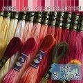 (dmc25-2) 【赤・ピンク系2】刺繍 刺しゅう糸 DMC 25番糸 豊富なカラーバリエーション クロスステッチ 手芸 クラフト