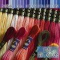 (dmc25-6) 【青系1】刺繍 刺しゅう糸 DMC 25番糸 豊富なカラーバリエーション クロスステッチ 手芸 クラフト