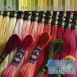 画像1: (dmc25-14) 【緑・黄緑系5】刺繍 刺しゅう糸 DMC 25番糸 豊富なカラーバリエーション クロスステッチ 手芸 クラフト