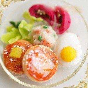 画像3: 【お振込み限定20%OFF】(S964)シリコンモールド キッチン雑貨 目玉焼き 卵料理 エッグ 2種類×各6サイズ 立体型 レジン専用