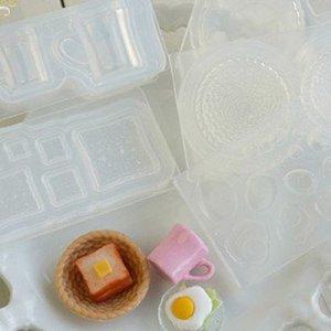 画像5: 【お振込み限定20%OFF】(S964)シリコンモールド キッチン雑貨 目玉焼き 卵料理 エッグ 2種類×各6サイズ 立体型 レジン専用