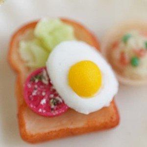 画像2: 【お振込み限定20%OFF】(S964)シリコンモールド キッチン雑貨 目玉焼き 卵料理 エッグ 2種類×各6サイズ 立体型 レジン専用