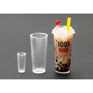 画像3: (ka1111) シリコンモールド クレイジュエリー タピオカカップ ロングタイプ 立体 1/12サイズ対応 キッチン雑貨 ミニチュア食器 食玩 レジンや樹脂粘土でのフェイクフード作りに