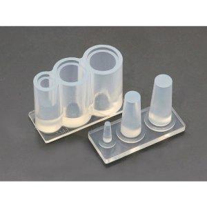 画像2: (ka1111) シリコンモールド クレイジュエリー タピオカカップ ロングタイプ 立体 1/12サイズ対応 キッチン雑貨 ミニチュア食器 食玩 レジンや樹脂粘土でのフェイクフード作りに