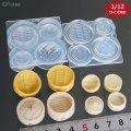 (S1025)シリコンモールド 飲茶 ・ 中華 シリーズ 食品雑貨  セイロ 立体型 2サイズ ミニチュア 食玩 レジンや樹脂粘土でのフェイクフード作りに