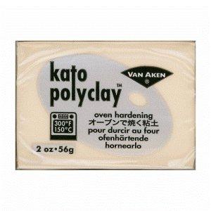 画像1: (deco49)  オーブン 粘土 kato polyclay ベージュフレッシュ 56g ポリマークレイ 粘土細工 クレイアート クレイクラフト