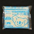 (deco32) オーブン陶土 Milk(ミルク)400g PADICO  天然陶土 粘土細工 クレイアート クレイクラフト