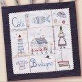 (by00235)中級者向け 刺繍キット フランス製 ブルターニュの海岸 ししゅう