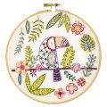 (by80201)初心者向け 刺繍キット フランス製 オオハシのガエタン ししゅう
