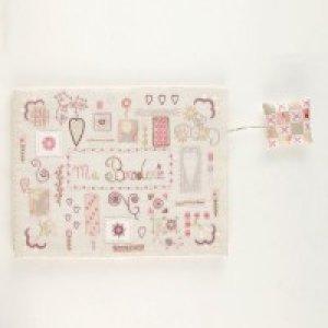 画像3: (by00550)中級者向け 刺繍キット フランス製 刺繡道具ケース お道具箱 ししゅう