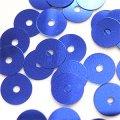 スパンコール●ウォッシャブル●平丸●ブルー メタリック P34●少量パック 〜760枚