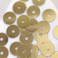 スパンコール●ウォッシャブル●平丸●ゴールド メタリック P41●少量パック 〜760枚