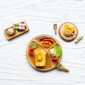 画像2: (a27) ナチュラルウッドベース スクエア 30×16×3mm 2個 カッティングボード まな板 ミニチュア食器 ディスプレイ ハンドメイド 手芸 パーツ 素材