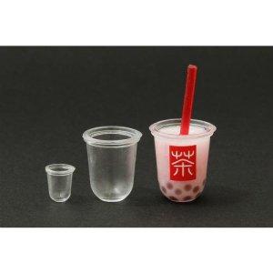 画像3: (ka1037) シリコンモールド クレイジュエリー タピオカドリンクカップ 立体型 1/12サイズ対応 キッチン雑貨 ミニチュア食器 食玩 レジンや樹脂粘土でのフェイクフード作りに