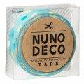 (KA11-853) ヌノデコテープ 【みんとカラフルハート】 幅1.5cm 布デコ 名前テープ ハンドメイド 手芸 ネーム 布製 布マスキングテープ