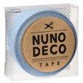 (KA11-865) ヌノデコテープ 【みずたまり】 幅1.5cm 布デコ 名前テープ ハンドメイド 手芸 ネーム 布製 布マスキングテープ
