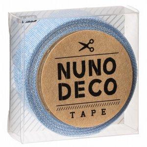 画像1: (KA11-865) ヌノデコテープ 【みずたまり】 幅1.5cm 布デコ 名前テープ ハンドメイド 手芸 ネーム 布製 布マスキングテープ
