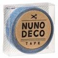 (KA11-870) ヌノデコテープ 【よぞら】 幅1.5cm 布デコ 名前テープ ハンドメイド 手芸 ネーム 布製 布マスキングテープ