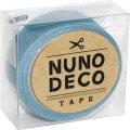 (KA15-222) ヌノデコテープ 【ふゆのそら】 幅1.5cm 布デコ 名前テープ ハンドメイド 手芸 ネーム 布製 布マスキングテープ