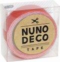 (KA15-226) ヌノデコテープ 【フラミンゴ】 幅1.5cm 布デコ 名前テープ ハンドメイド 手芸 ネーム 布製 布マスキングテープ