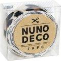 (KA15-235) ヌノデコテープ 【ひょう】 幅1.5cm 布デコ 名前テープ ハンドメイド 手芸 ネーム 布製 布マスキングテープ