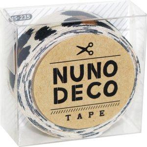 画像1: (KA15-235) ヌノデコテープ 【ひょう】 幅1.5cm 布デコ 名前テープ ハンドメイド 手芸 ネーム 布製 布マスキングテープ
