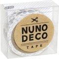 (KA15-243) ヌノデコテープ 【北欧の冬】 幅1.5cm 布デコ 名前テープ ハンドメイド 手芸 ネーム 布製 布マスキングテープ