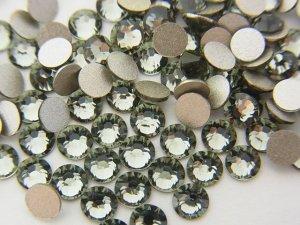 画像1: スワロフスキー   ブラックダイヤモンド  SS3 10グロス 1440粒