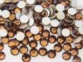 【振込限定★特別価格】 スワロフスキー  スモークトパーズ SS16 10グロス 1440粒 ≪♯2088≫